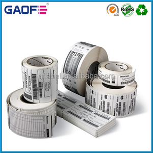 Self Adhesive Shipping Sticker Label, Barcode Printing Labels Paper, cargo tracking sticker