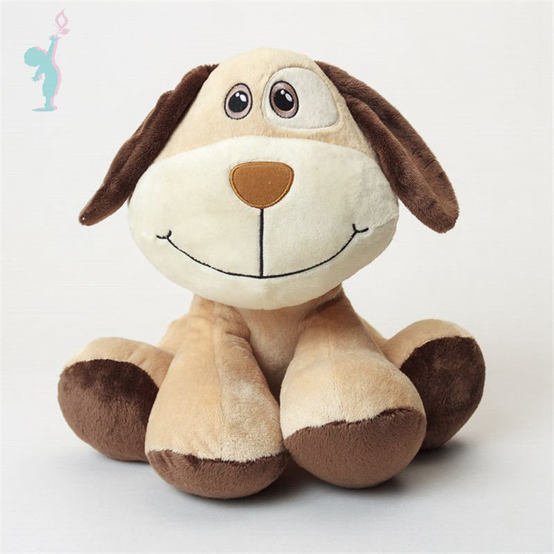 Alibaba OEM 20CM Small Fluffy Puppy Plush Toy Dogs Stuffed Animals Soft Children Dolls Kids Toys Gifts