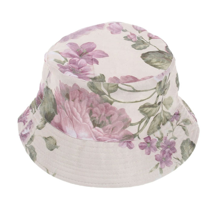 46baf1ae4ad Get Quotations · Hot sale 2015 Summer Women fishing bucket hat Summer Beach Sun  Hat floral flower hat 1pcs