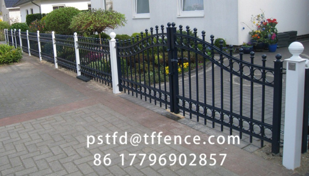 Indian artistic exterior customized new design luxury outdoor iron gate