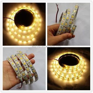 Details about 1M 5050 60 LED Strip Light lamp Plant Growing Hydroponic RGB Waterproof DC12V
