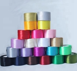 5cm Satin ribbon for wedding party decoration wedding supplies gift wrapping