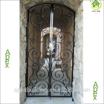Iron main entrance door grill design single door design Main entrance door grill