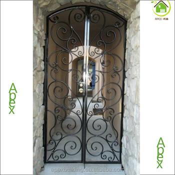 Iron Main Entrance Door Grill Design Single Door Design