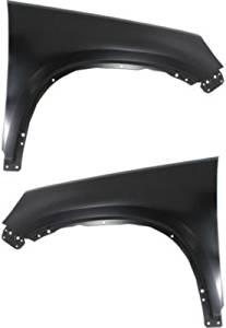 Evan-Fischer EVA1690809141521 Fender Set of 2 Front Driver and Passenger Side Steel Primered