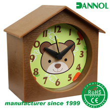 funny cartoon animal plastic gift alarm clock original design for kids