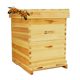 Hot sale Beekeeping Tool Nest Box Natural Wooden dadant langstroth beehive