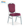 wholesale metal aluminum stacking hotel banquet hall chair for sale