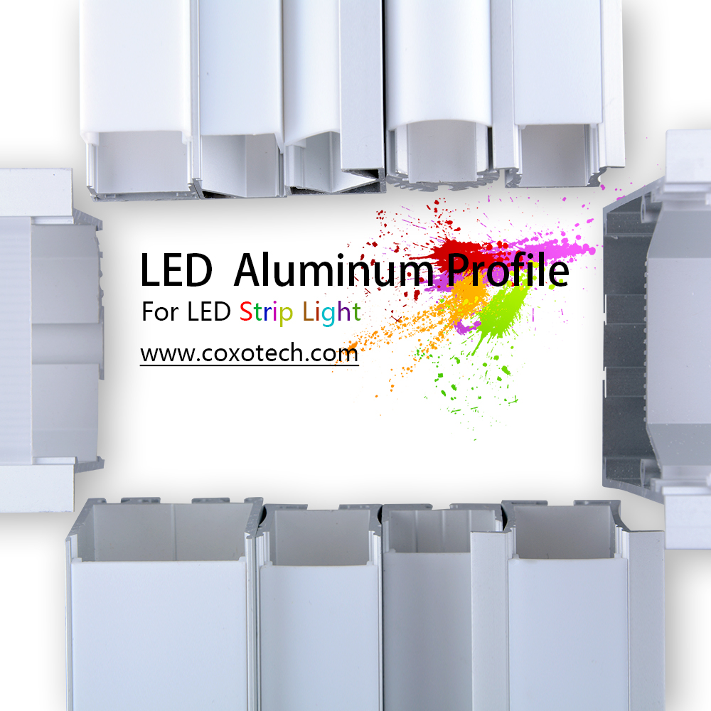 Best Quality Wide Led Aluminum Profile for LED Strip Lights Bar