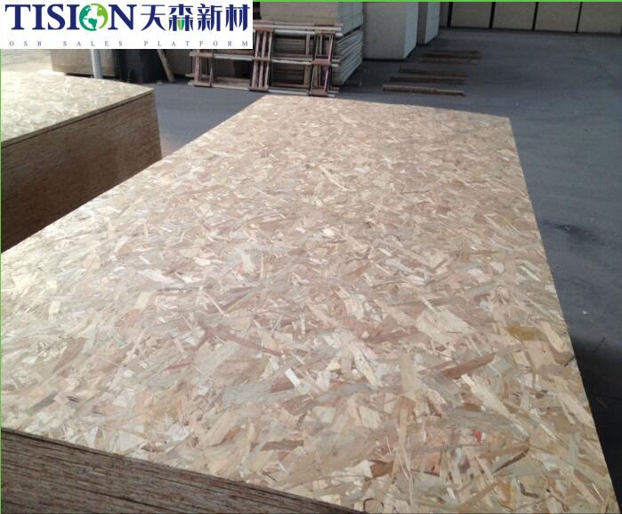 9mm 12mm 15mm 18mm OSB con pegamento MR para panel de pared