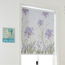Wholesale new style printed blackout roller blind fabric