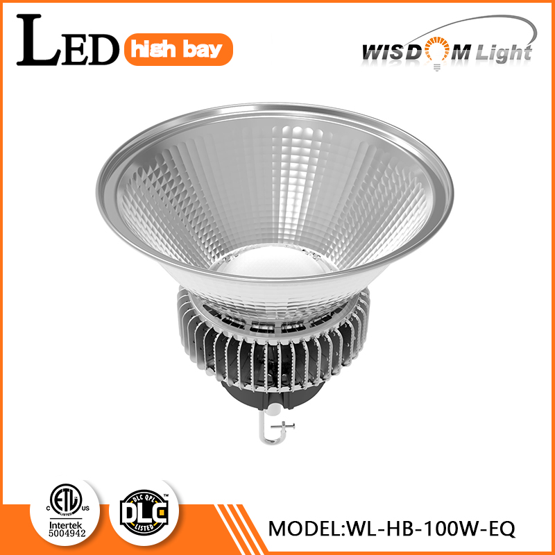 2016 UL DLC Listed led linear highbay light