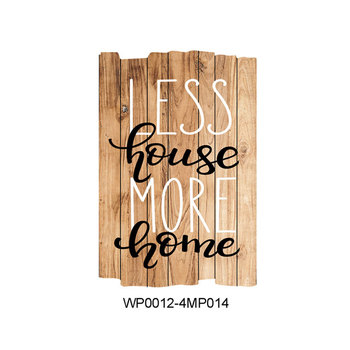 Home Decor Wood Craft Art Sign Hanging Board Rustic Custom Wooden Interesting Custom Wood Signs For Home Decor