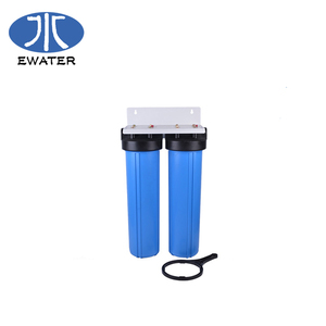 "Fast delivery PP plastic filter housing pleated filter cartridge jumbo Slim/Big Blue filter housing 10""/20"""