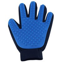 Efficient Pet Hair Remover Mitt Brush Glove Massage Tool with Enhanced Five Finger Design Pet Grooming Glove for Dogs & Cats