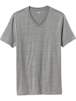 Cotton Men's V-neck T-Shirt Men's Soft-Washed T-Shirt Special Men's T-shirt Factory From China