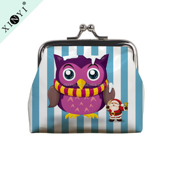 New Design Latest Personalized Owl Custom Printed Christmas Cute Small Coin  Purse For Kids - Buy Small Coin Purse,Custom Coin Purse,Personalized Coin