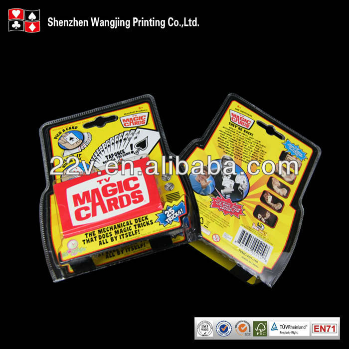 Custom Top Trumps Paper Game Card with Display Box