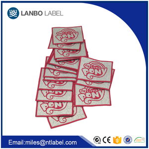 Factory bulk garment soft clothes woven labels