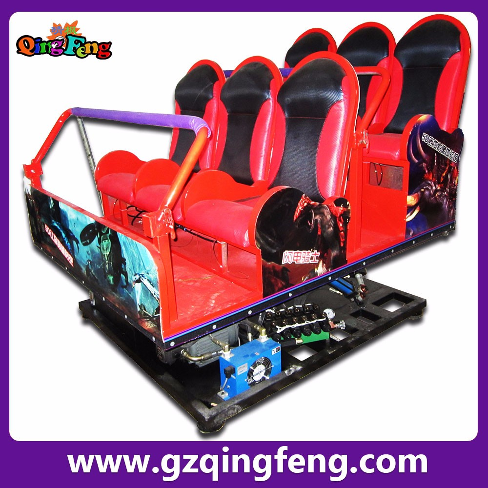 Qingfeng Hydraulic Electric System 5d Cinema Simulator Motion Buy Product On Alibabacom Ride Mobile