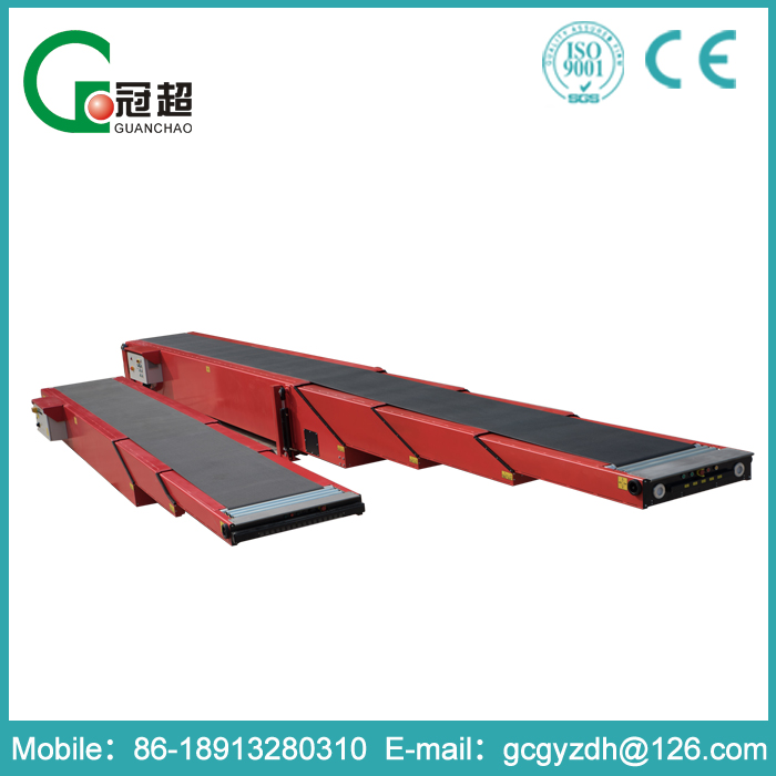 GUANCHAO-10 years experience Overall welding structure best china telescopic belt conveyor on sale