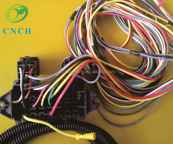 Modified Wiring Harness. Pony Harness, Cable Harness, Engine Harness on