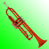 XTR007 Good Quality Colorful Trumpet