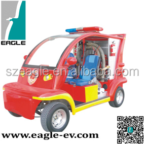 EG6011F, Electric mini fire fighting trucks for sale
