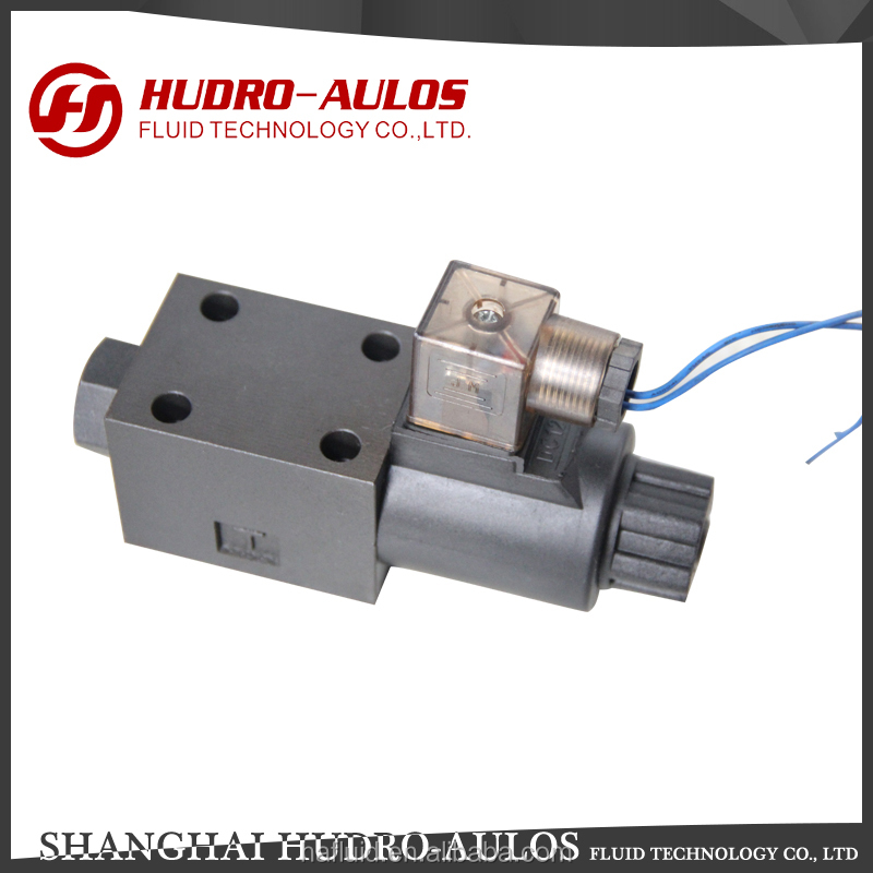 Good quality electromagnetic 1 way hydraulic solenoid valve made in China