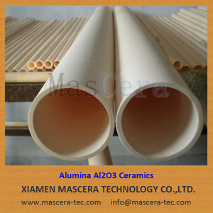 Heat Resistance 99.5% Alumina Al2O3 Ceramic Furnace Tube/Pipe