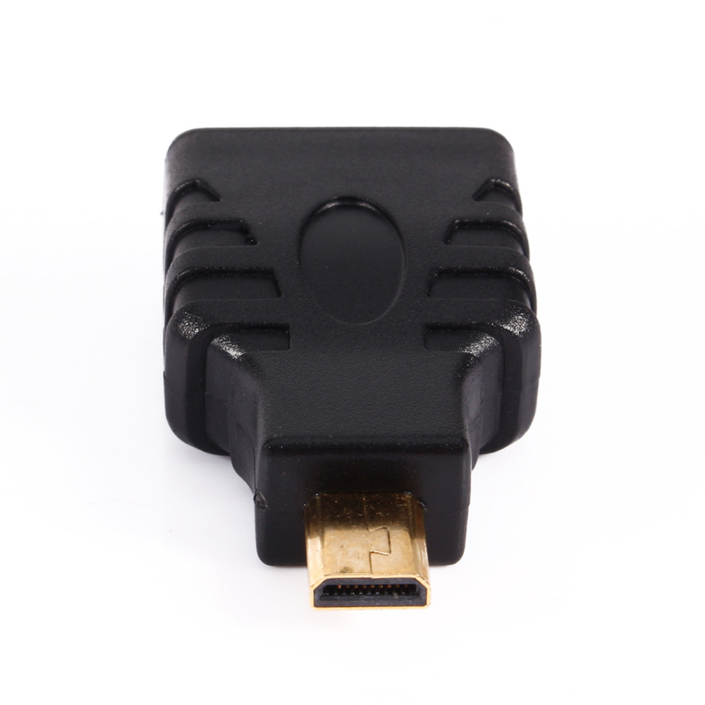 High Quality Micro Male to Female Plug Adapter Gold-Plated Connector Adapter Convertor for HDTV TV BOX