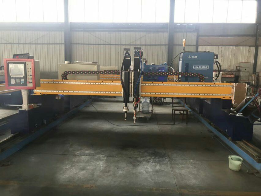 SS CS and Aluminium cnc plasma cutting machine