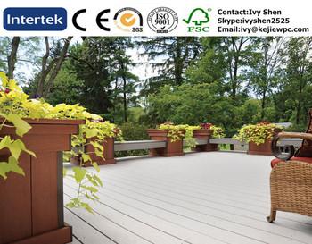 Tuin decking boards composiet prijs exterieur decking wpc terras