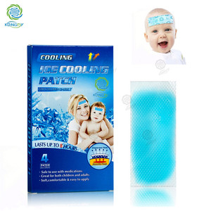 Free samples good quality fever cooling gel patch