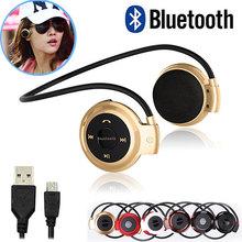 Hot Mini503  BH503 Neckband Mini Wireless Sport Bluetooth Headset/headphone Music Stereo Bluetooth Earphone/Earbuds Handsfree