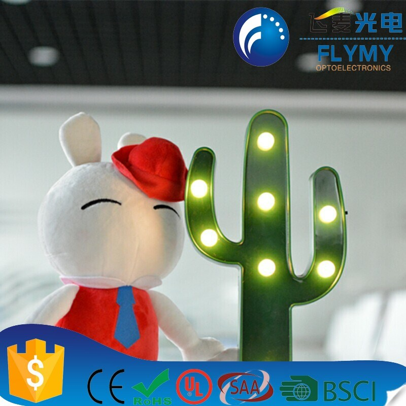hot sale factory price impressive led marquee light letter battery operated led lights decoration lighting