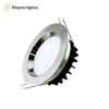 SAA RoHS CE Chrome White Finishing Dimmable Recessed LED Downlight