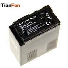 TianFen 1Pcs 5800mAh VW-VBG6 VW VBG6 Camera battery for PANASONIC AG-HMC71 HMC73 HMC150 HPX250 AC160MC