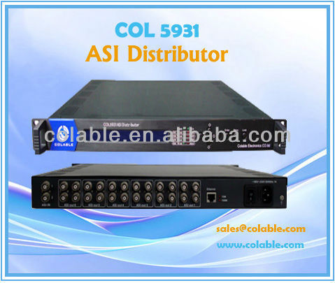 6 TS out Distributor / Distributor/ ASI & TS distributor ,ts streamer COL5931
