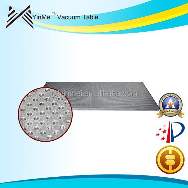 Top quality vacuum hold down table