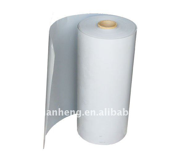 white PVC die cutting film