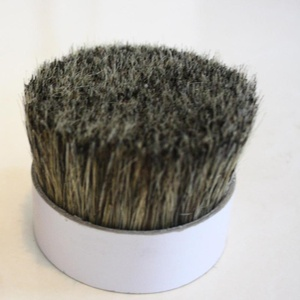 China chungking white pig hair bristle for different kinds of brush