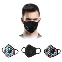 sunfresh custom design cotton reusable face mask pm2.5 dust mask respirator