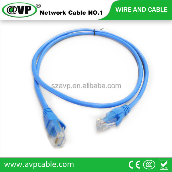 manufacturer price cat5e cat6 lan cable coaxial fiber-optic patch cord AVP brand/OEM orders are acceptable network cable