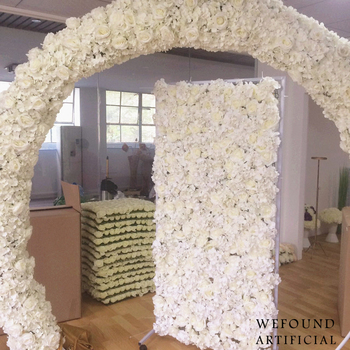 Fw101 Wefound Artificial Flower Backdrop,Flower Wall For Wedding ...