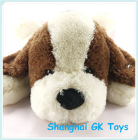 Color customization kids birthday gifts puppy plush toys/ dog plush stuffed toys