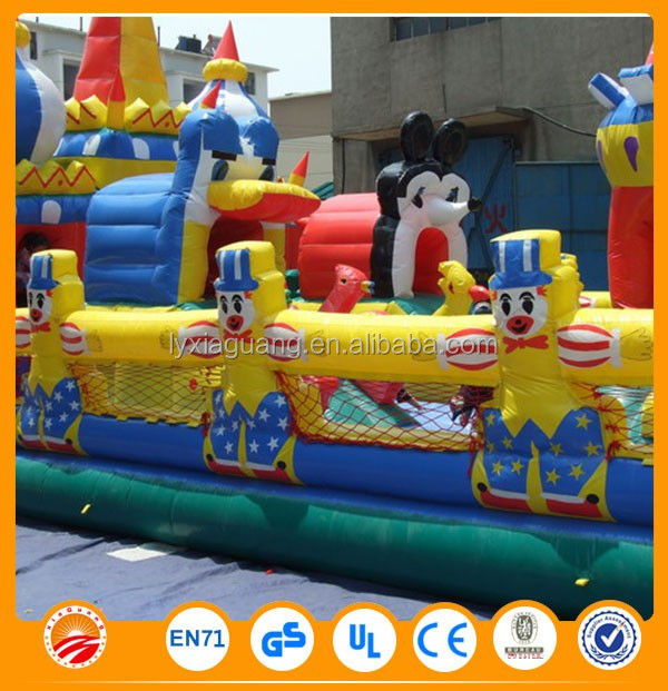 Free accessories naughty dog inflatable bounce house for kids fun