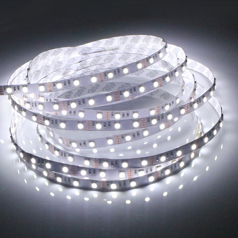 In Beautiful Rgb+cct Led Strip 5050 Smd 60leds/m 5m Rgb+cool White Warm White 2 In 1 Led Flexible Tape Full Colour Temperature 12v 24v Excellent Quality