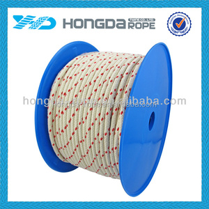 2016 Factory High quality cheap braided cotton rope 15mm