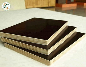 Best quality Ply wood 7 Layer Black and Brown Film Faced 22mm Marine Plywood Prices